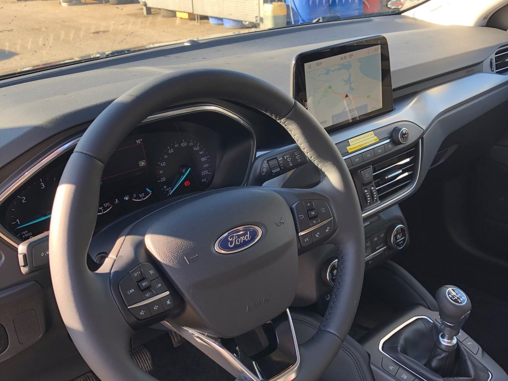 Ford Focus Ecoblue 120 HK Stationcar