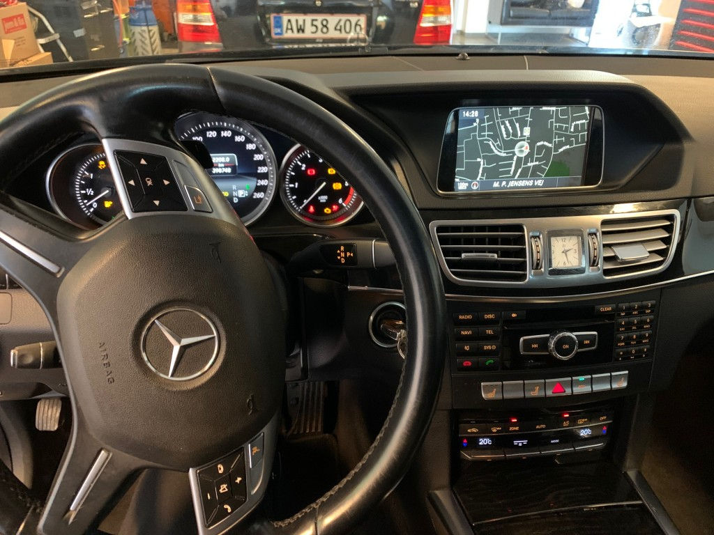 Mercedes Benz E 200 stc sort aut