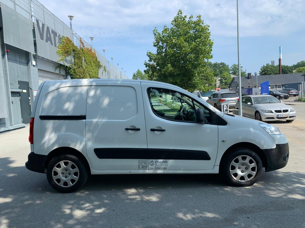 Peugeot Partner 1,6 Van 3-sæder