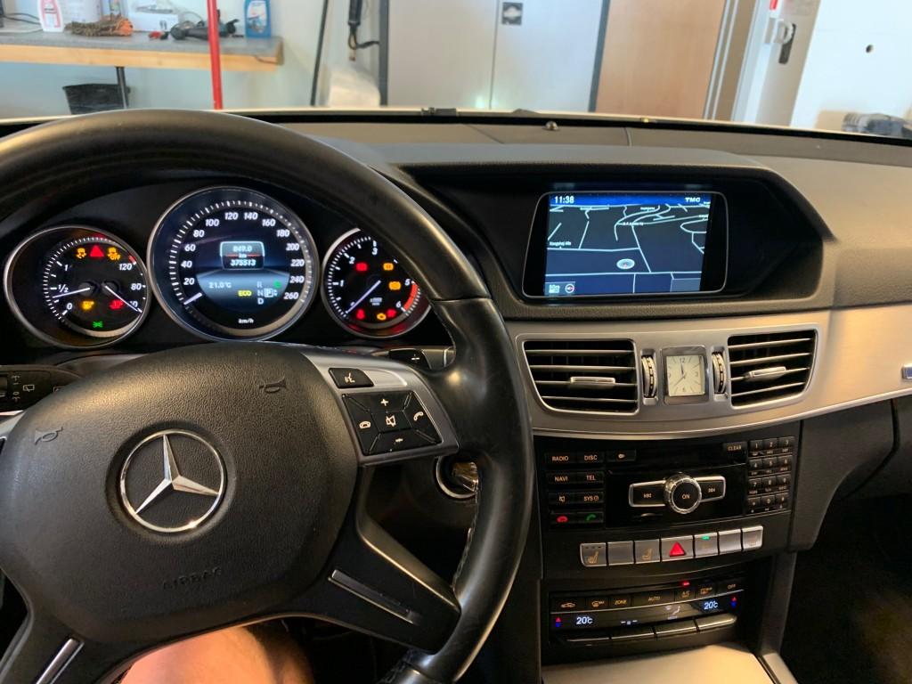 Mercedes Benz E 200cdi st hvid