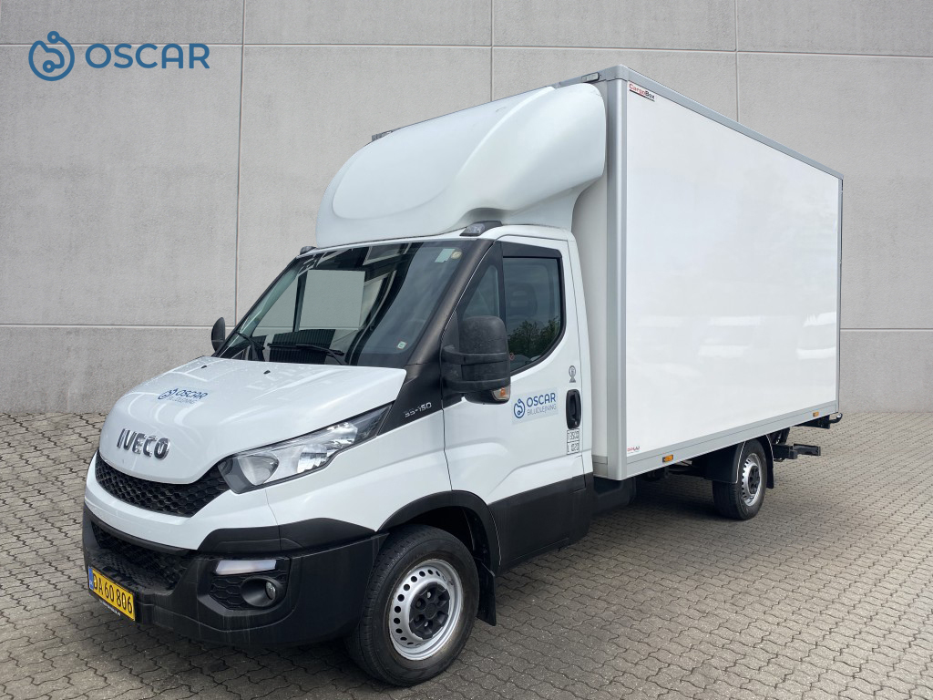 Iveco Daily 35S16 Alukasse lift