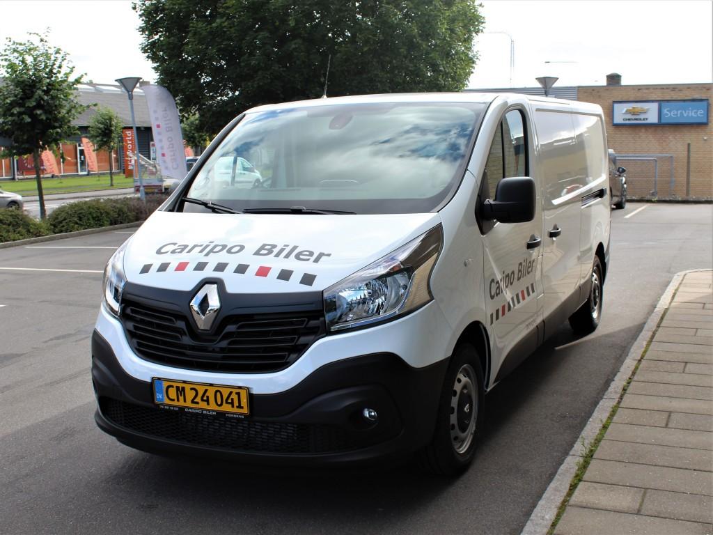 Renault Trafic - Kan ikke betales med Debit Card
