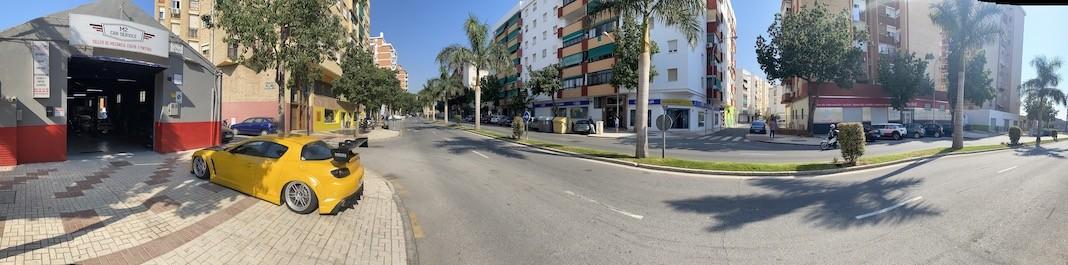 The facade of Oscar Car Rental Málaga - Carretera de Cádiz