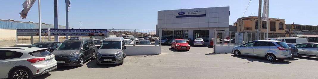 La fachada de Oscar Alquiler de coches Cuevas del Almanzora