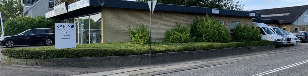 Facaden af Oscar Biludlejning Slangerup