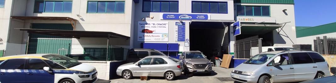 The facade of Oscar Car Rental Cajiz