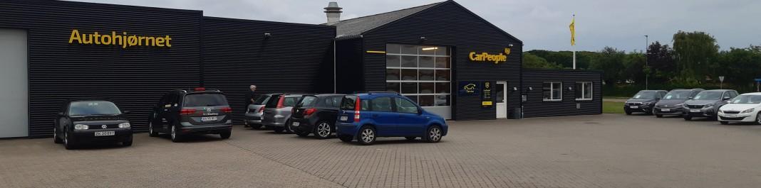 The facade of Oscar Car Rental Ringkøbing