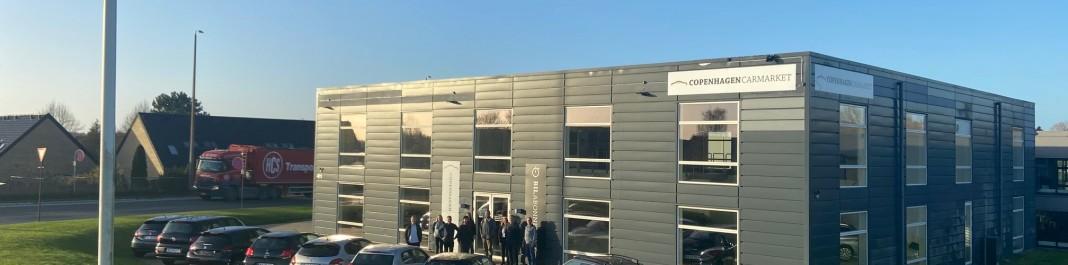 The facade of Oscar Car Rental Glostrup N