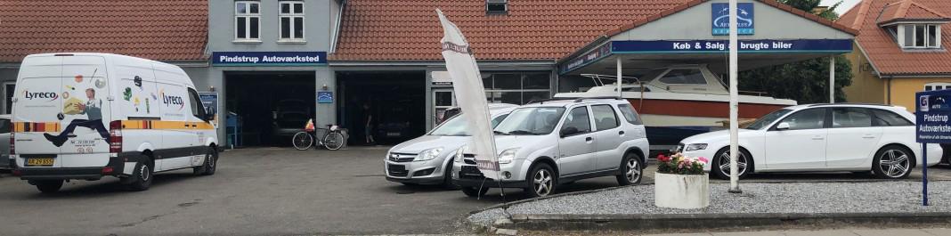 The facade of Oscar Car Rental Pindstrup