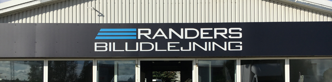 The facade of Oscar Car Rental Randers SV