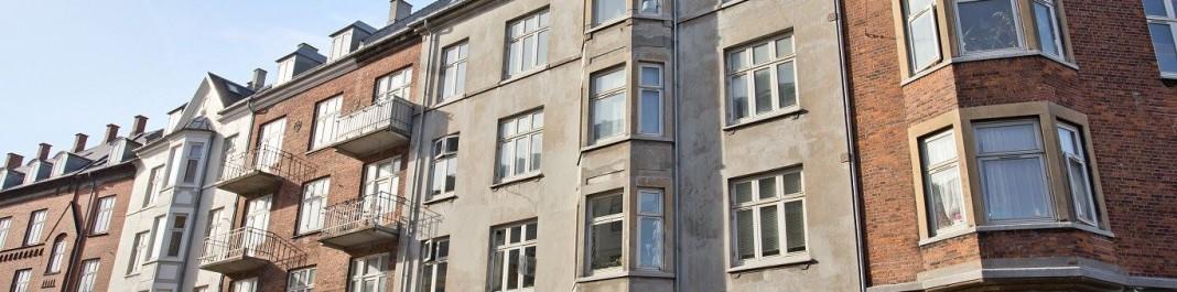 Facaden af Oscar Biludlejning Østerbro